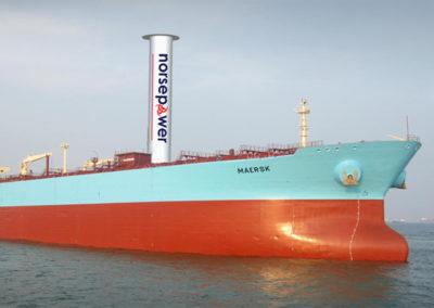 Tankers op hernieuwbare energie
