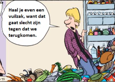 Voedselverspilling: Is er een leven na(ast) je bord?